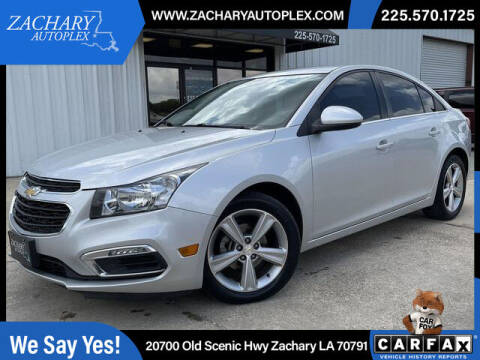 2015 Chevrolet Cruze for sale at Auto Group South in Natchez MS