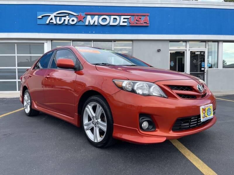 2013 Toyota Corolla for sale at AUTO MODE USA in Burbank IL