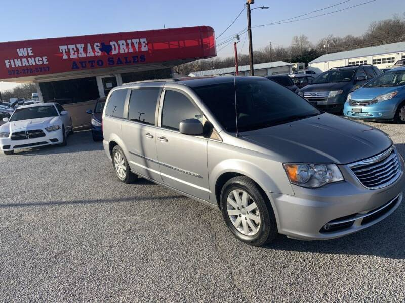 2016 Chrysler Town and Country for sale at Texas Drive LLC in Garland TX