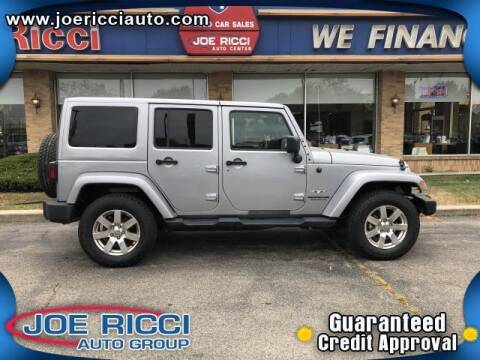 2017 Jeep Wrangler Unlimited for sale at Mr Intellectual Cars in Shelby Township MI