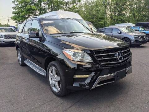 2014 Mercedes-Benz M-Class for sale at EMG AUTO SALES in Avenel NJ