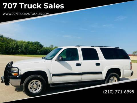 2004 Chevrolet Suburban for sale at 707 Truck Sales in San Antonio TX