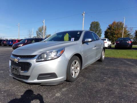 2014 Chevrolet Malibu for sale at Pool Auto Sales Inc in Spencerport NY