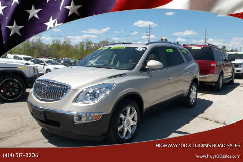 2008 Buick Enclave for sale at Highway 100 & Loomis Road Sales in Franklin WI