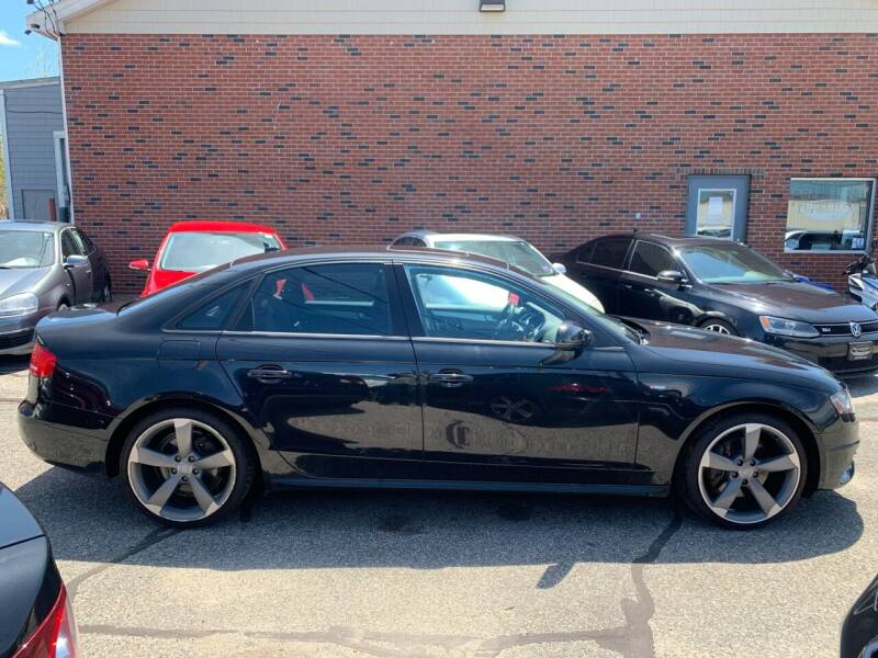 2012 Audi A4 for sale at BAY CITY MOTORS in Portland ME