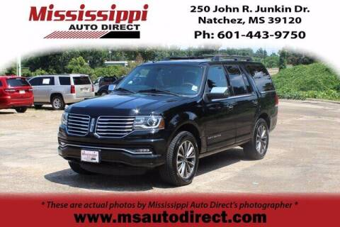 2017 Lincoln Navigator for sale at Auto Group South - Mississippi Auto Direct in Natchez MS