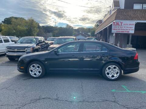 2010 Ford Fusion for sale at TNT Auto Sales in Bangor PA