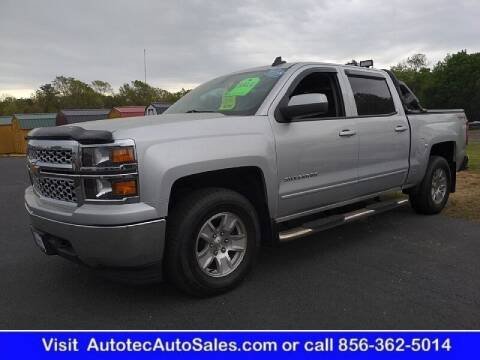 2015 Chevrolet Silverado 1500 for sale at Autotec Auto Sales in Vineland NJ