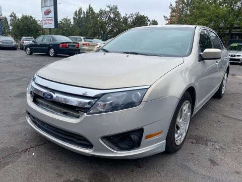 2010 Ford Fusion for sale at Blue Line Auto Group in Portland OR