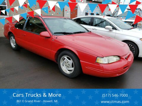 1996 Ford Thunderbird for sale at Cars Trucks & More in Howell MI