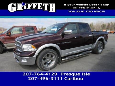 2012 RAM Ram Pickup 1500 for sale at Griffeth Mitsubishi - Pre-owned in Caribou ME