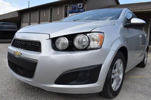 2013 Chevrolet Sonic for sale at IMD Motors in Richardson TX