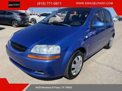2007 Chevrolet Aveo for sale at SOUTHWEST AUTO GROUP-EL PASO in El Paso TX