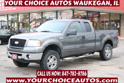 2007 Ford F-150 for sale at Your Choice Autos - Waukegan in Waukegan IL