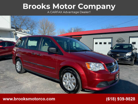 2016 Dodge Grand Caravan for sale at Brooks Motor Company in Columbia IL