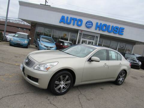 2007 Infiniti G35 for sale at Auto House Motors in Downers Grove IL