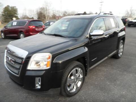 2010 GMC Terrain for sale at CARSON MOTORS in Cloverdale IN