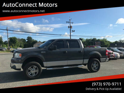 2006 Ford F-150 for sale at AutoConnect Motors in Kenvil NJ