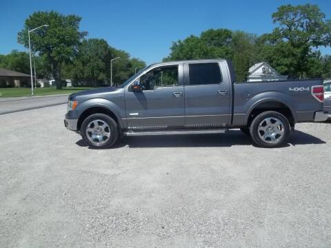 2012 Ford F-150 for sale at BRETT SPAULDING SALES in Onawa IA