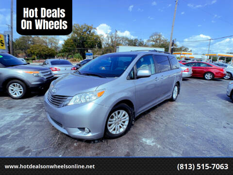 2013 Toyota Sienna for sale at Hot Deals On Wheels in Tampa FL