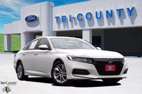 2018 Honda Accord for sale at TRI-COUNTY FORD in Mabank TX