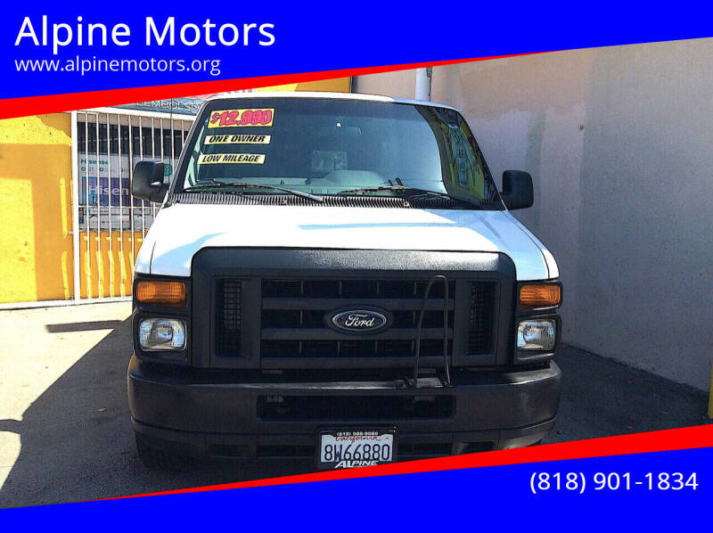 2009 Ford E-Series Cargo for sale at Alpine Motors in Van Nuys CA