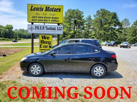 2008 Hyundai Elantra for sale at Lewis Motors LLC in Deridder LA
