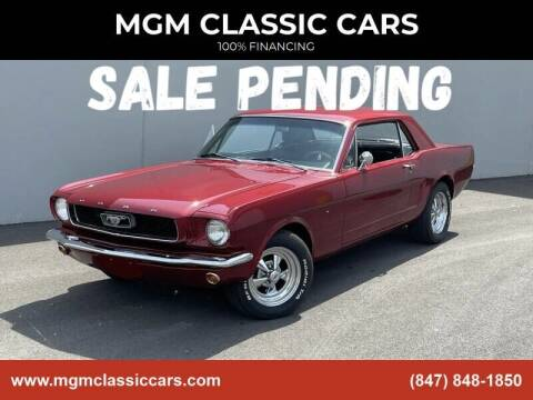 1966 Ford Mustang for sale at MGM CLASSIC CARS in Addison, IL