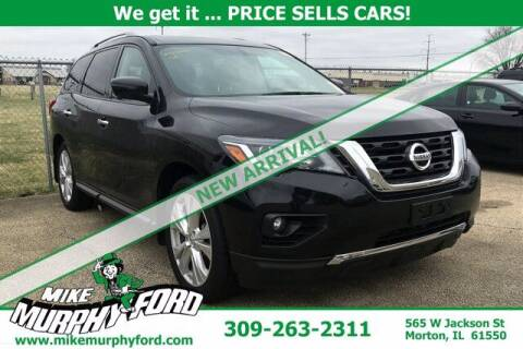 2018 Nissan Pathfinder for sale at Mike Murphy Ford in Morton IL