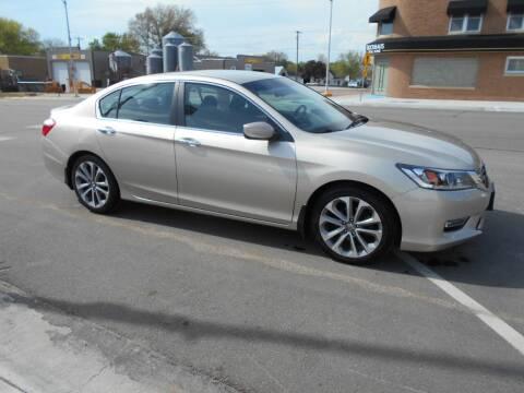 2013 Honda Accord for sale at Creighton Auto & Body Shop in Creighton NE