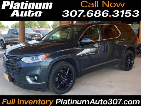 2020 Chevrolet Traverse for sale at Platinum Auto in Gillette WY