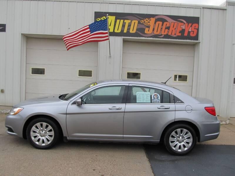 2014 Chrysler 200 for sale at AUTO JOCKEYS LLC in Merrill WI