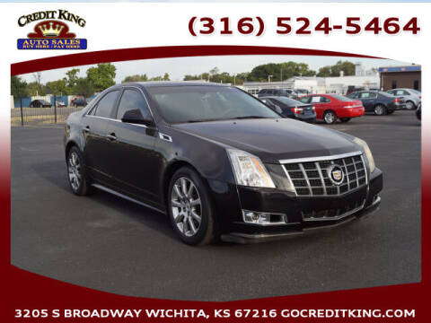 2013 Cadillac CTS for sale at Credit King Auto Sales in Wichita KS