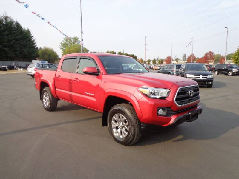 2017 Toyota Tacoma for sale at New Deal Used Cars in Spokane Valley WA
