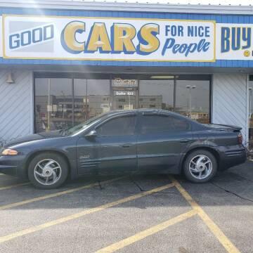 2001 Pontiac Bonneville for sale at Good Cars 4 Nice People in Omaha NE