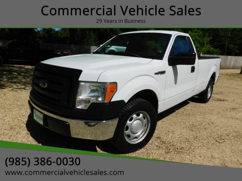 2012 Ford F-150 for sale at Commercial Vehicle Sales in Ponchatoula LA