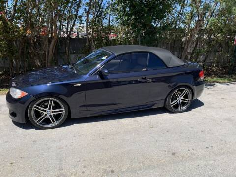 2009 BMW 1 Series for sale at Zak Motor Group in Deerfield Beach FL