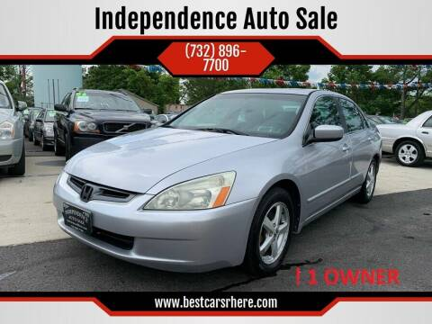 2005 Honda Accord for sale at Independence Auto Sale in Bordentown NJ