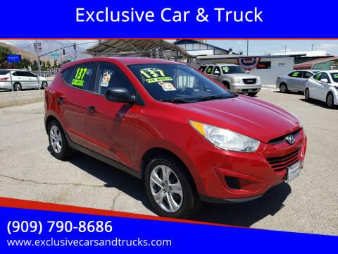 2010 Hyundai Tucson for sale at Exclusive Car & Truck in Yucaipa CA