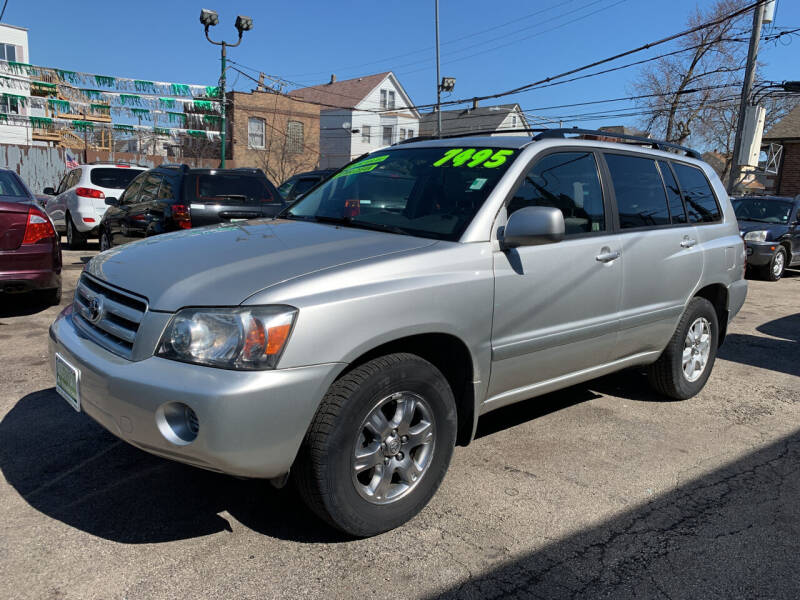 2006 Toyota Highlander for sale at Barnes Auto Group in Chicago IL