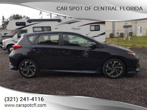 2017 Toyota Corolla iM for sale at Car Spot Of Central Florida in Melbourne FL