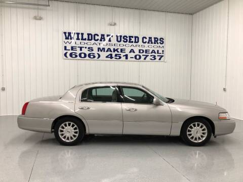 2006 Lincoln Town Car for sale at Wildcat Used Cars in Somerset KY