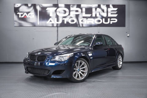 2010 BMW M5 for sale at TOPLINE AUTO GROUP in Kent WA