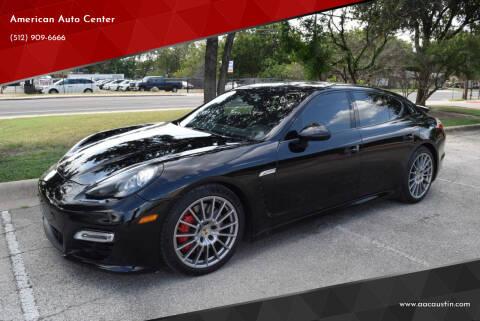 2013 Porsche Panamera for sale at American Auto Center in Austin TX