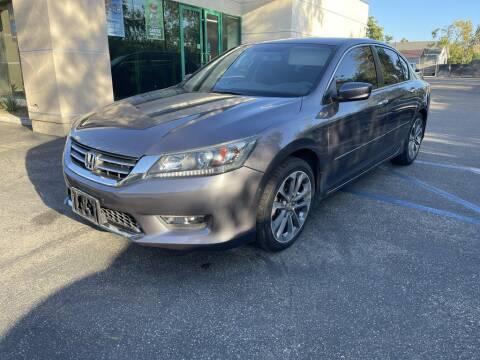 2015 Honda Accord for sale at AutoHaus Loma Linda in Loma Linda CA