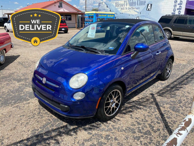 2012 FIAT 500c for sale at Gabes Auto Sales in Odessa TX