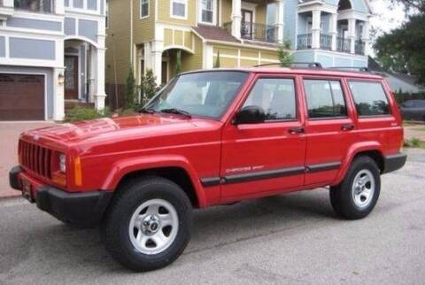 2000 Jeep Cherokee for sale at Frontline Select in Houston TX