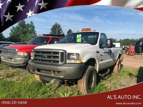 2004 Ford F-350 Super Duty for sale at Al's Auto Inc. in Bruce Crossing MI