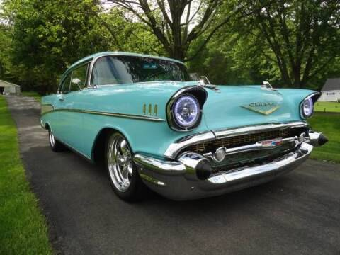 1957 Chevrolet Bel Air for sale at Classic Car Deals in Cadillac MI