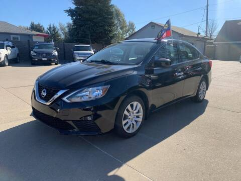 2017 Nissan Sentra for sale at Triangle Auto Sales in Omaha NE